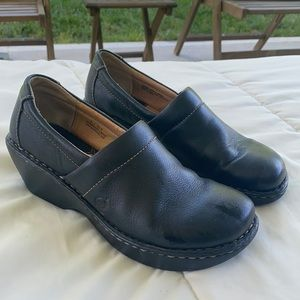 Born brown Wedged Shoes 9
